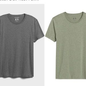 Banana Republic Premium Wash Tees